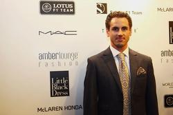 Adrian Sutil, Pilota di riserva Williams all'Amber Lounge Fashion Show