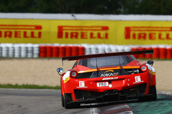 #20 Akka ASP Ferrari 458 Italia: Morgan Moulin Trafдляt, Трістан Войтьєр, Alessandro PierGuidi