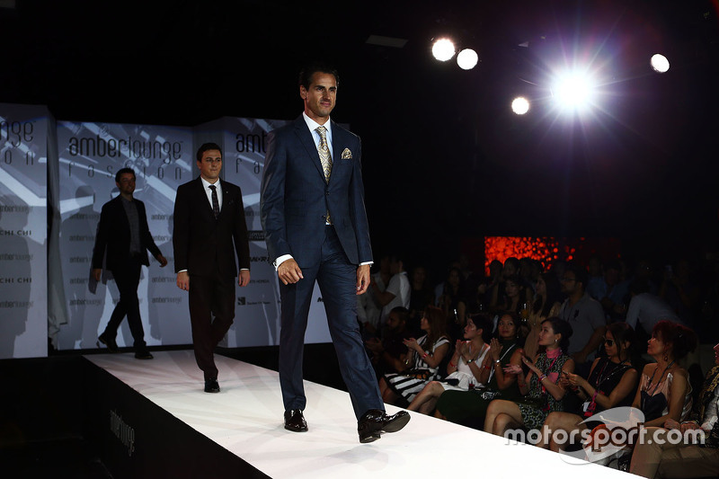 Adrian Sutil, Williams Reserve Driver at the Amber Lounge Fashion Show