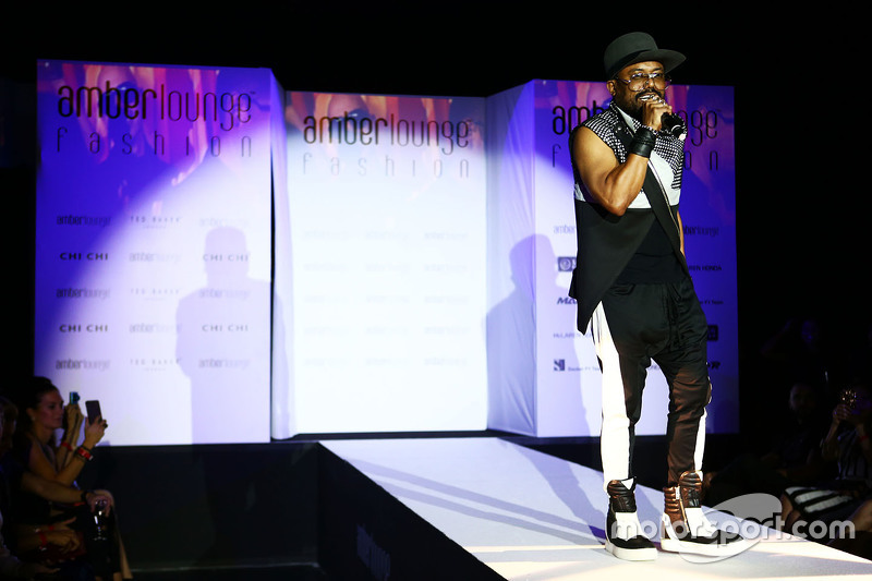 Apl.de.ap, Black Eyed Peas singer, at the Amber Lounge Fashion Show