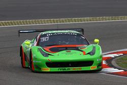 #333 Rinaldi Racing Ferrari 458 Italia: Rinat Salkhov, Robert Renauer, Norbert Siedler