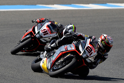 Jordi Torres, Aprilia Racing Team et Leon Haslam, Aprilia Racing Team