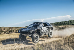 Stephane Peterhansel und Jean-Paul Cottret, Peugeot 2008 DKR16