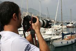 Vitantonio Liuzzi, Scuderia Toro Rosso, New XPB Photographer