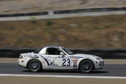 #23 MY Motorsports Mazda MX-5: Don Thibaut, Tim Weaver