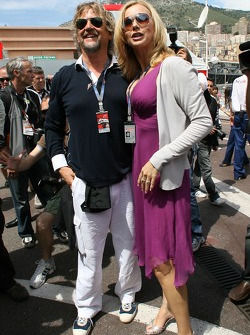 Veronica Ferres, Actress and Martin Krug