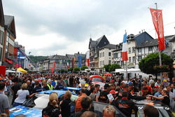 Fans participate in the Adenauer racing day in Adenau