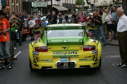 Romain Dumas in the Manthey Racing Porsche
