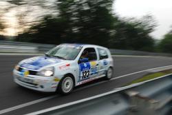 #123 Renault Clio RS: Massimiliano Papi, Francesco Ragozzino, Alexander Bolognesi, Sergio Negroni