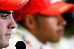 Fernando Alonso, McLaren Mercedes , Lewis Hamilton, McLaren Mercedes