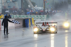 Marco Werner takes the checkered flag