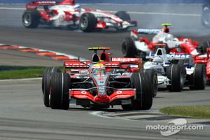 Lewis Hamilton the winner of the last F1 race on American soil