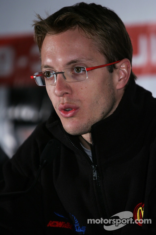 Conférence de presse  : Sébastien Bourdais