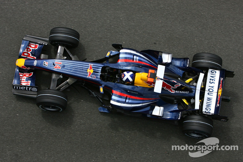 #14 : David Coulthard, Red Bull RB3