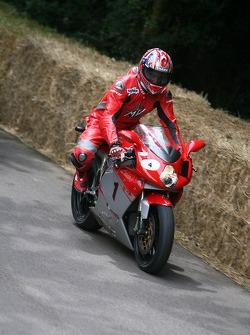 Carl Fogarty, MV Agusta F4R 312 2007