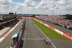 Lewis Hamilton, McLaren Mercedes, MP4-22, Kimi Raikkonen, Scuderia Ferrari, F2007, Fernando Alonso, McLaren Mercedes, MP4-22
