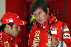 Rob Smedly,, Scuderia Ferrari, Track Engineer of Felipe Massa