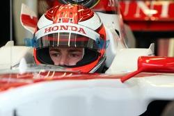 James Rossiter, Test Driver, Honda Racing F1 Team