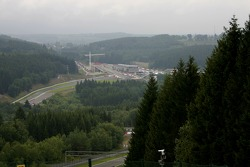 A panoramic view of the circuit upgrades