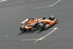 Christian Klien, pilote d'essai, Honda Racing F1 Team, RA107