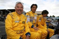 Yojiro Terada, Yutaka Yamagishi and Robin Longechal