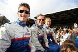 Chris Buncombe, William Binnie and Allen Timpany