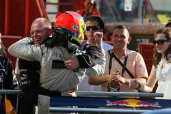 Paul di Resta, Persson Motorsport AMG Mercedes, AMG Mercedes C-Klasse, happy with his 3rd place