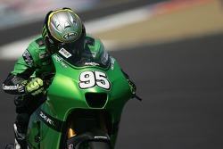 Roger Lee Hayden en la MotoGP Kawasaki