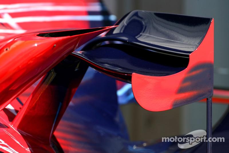 Аеродинаміка Scuderia Toro Rosso, STR02