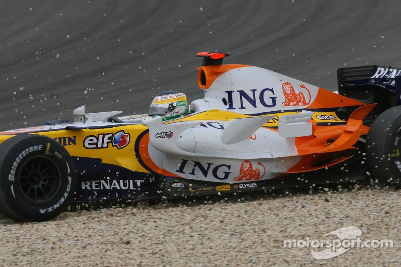 Джанкарло Фізікелла, Renault F1 Team, R27