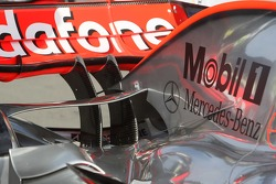 Technical detail, McLaren Mercedes, MP4-22