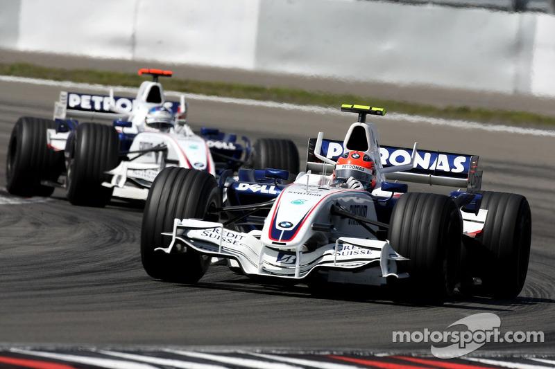 Роберт Кубіца, Нік Хайдфельд, BMW Sauber F1 Team, F1.07