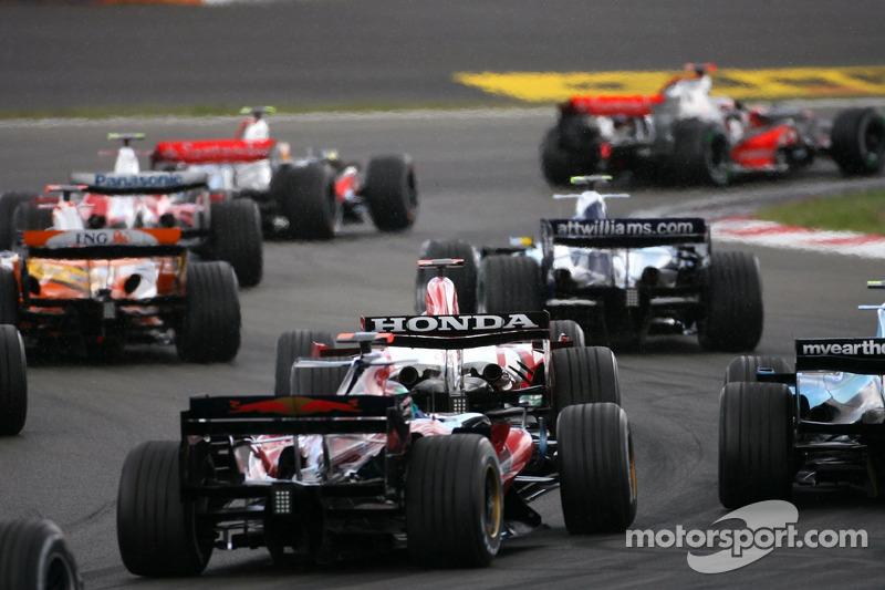 Start zum GP Europa 2007 auf dem Nürburgring