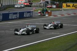 Нік Хайдфельд, Роберт Кубіца, BMW Sauber F1 Team