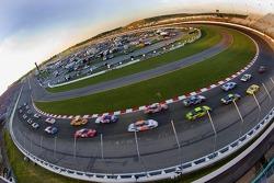Start of the Gateway 250 NASCAR Busch Series race