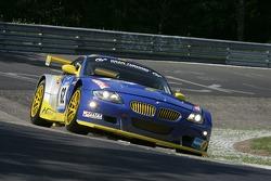#62 ORMS Racing-Wiesmann BMW Z4: Marko Hartung, Stefan Neuberger