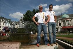 Bert Longin and Anthony Kumpen