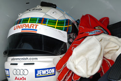 Helmet of Allan McNish
