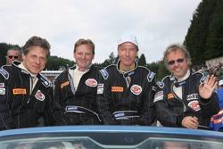 Patrick Ortlieb, Paul Pfefferkorn, Martin Sagmeister and Philip Zumstein