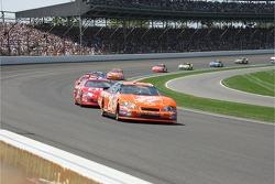 Tony Stewart leads Dale Earnhardt Jr.