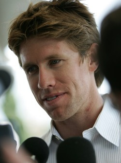 Pre-event press conference: Carl Edwards talks with the media