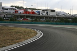 Hungaroring track walk