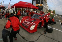 Pitstop for #99 Gainsco Bob Stallings Racing Pontiac Riley: Jon Fogarty, Alex Gurney