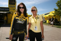 The charming Nextel SprintSpeed Million girls