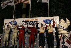 The podium: LM GT2