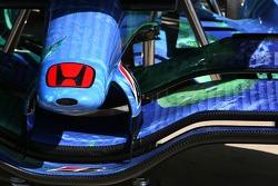 Honda Racing F1 Team, RA107, front wing detail