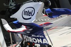BMW Sauber F1 Team engine cover