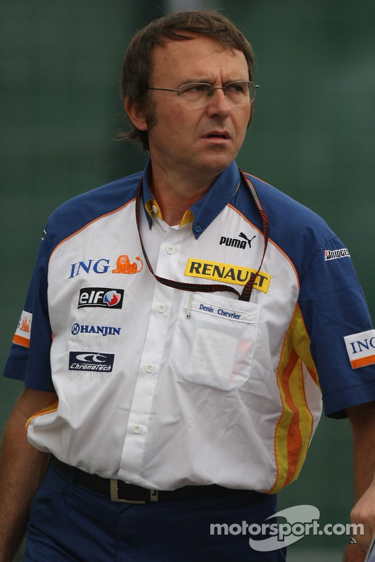 Denis Chevrier, Head of Trackside Operations