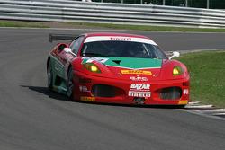Les Combes: #97 GPC Sport Ferrari F430 GT: Matteo Bobbi, ALessandro Bonetti, Fabrizio De Simone