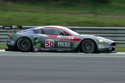Pouhon: #50 Amr Larbre Competition Aston Martin DBR9: Christophe Bouchut, Gabriel Gardel, Fabrizio Gollin